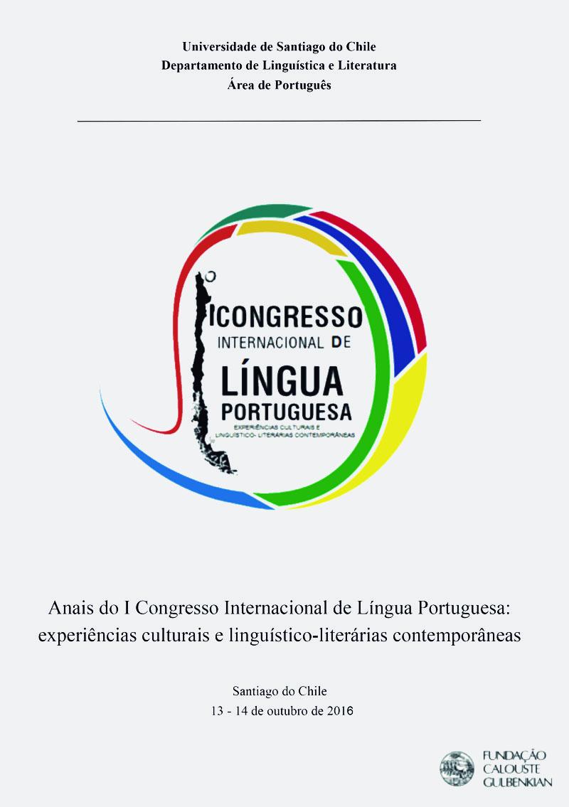 Anais do I Congresso Internacional de Língua Portuguesa